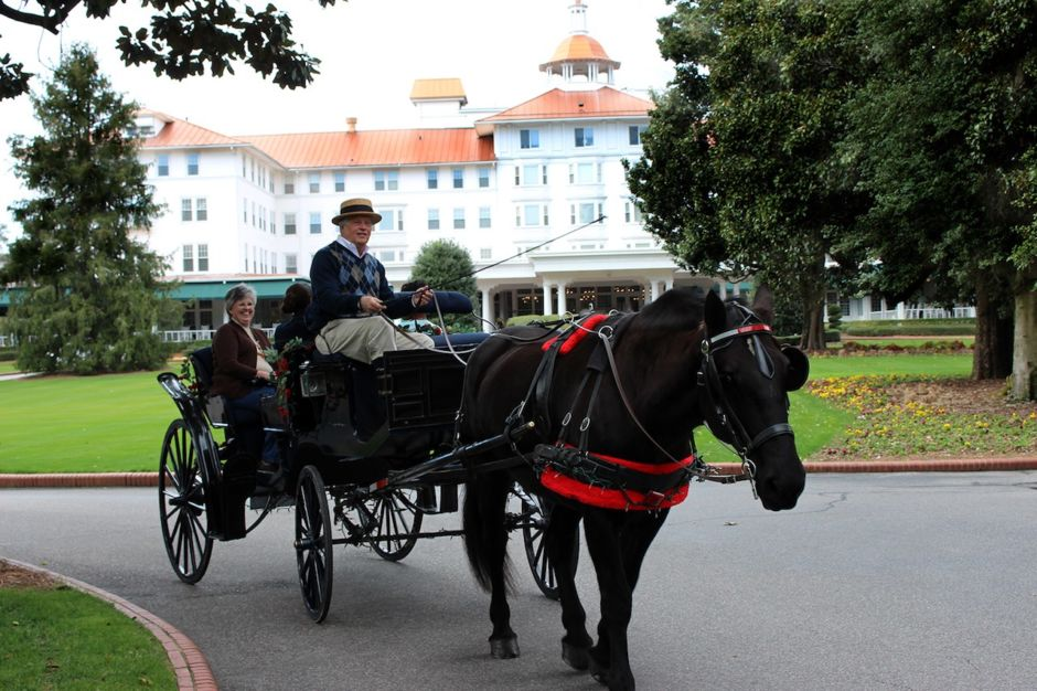 Carriage tour Pinehurst Resort
