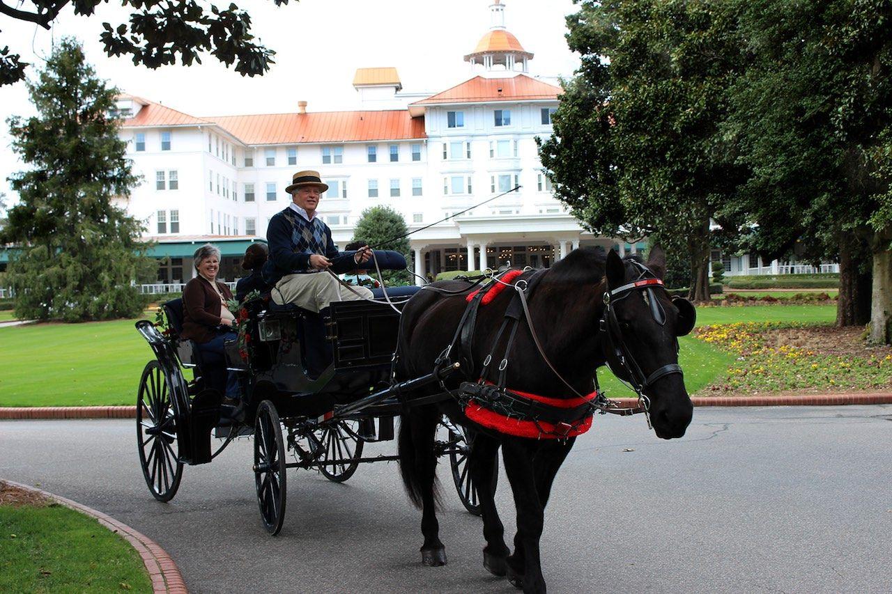 Carriage tour Pinehurst Resort