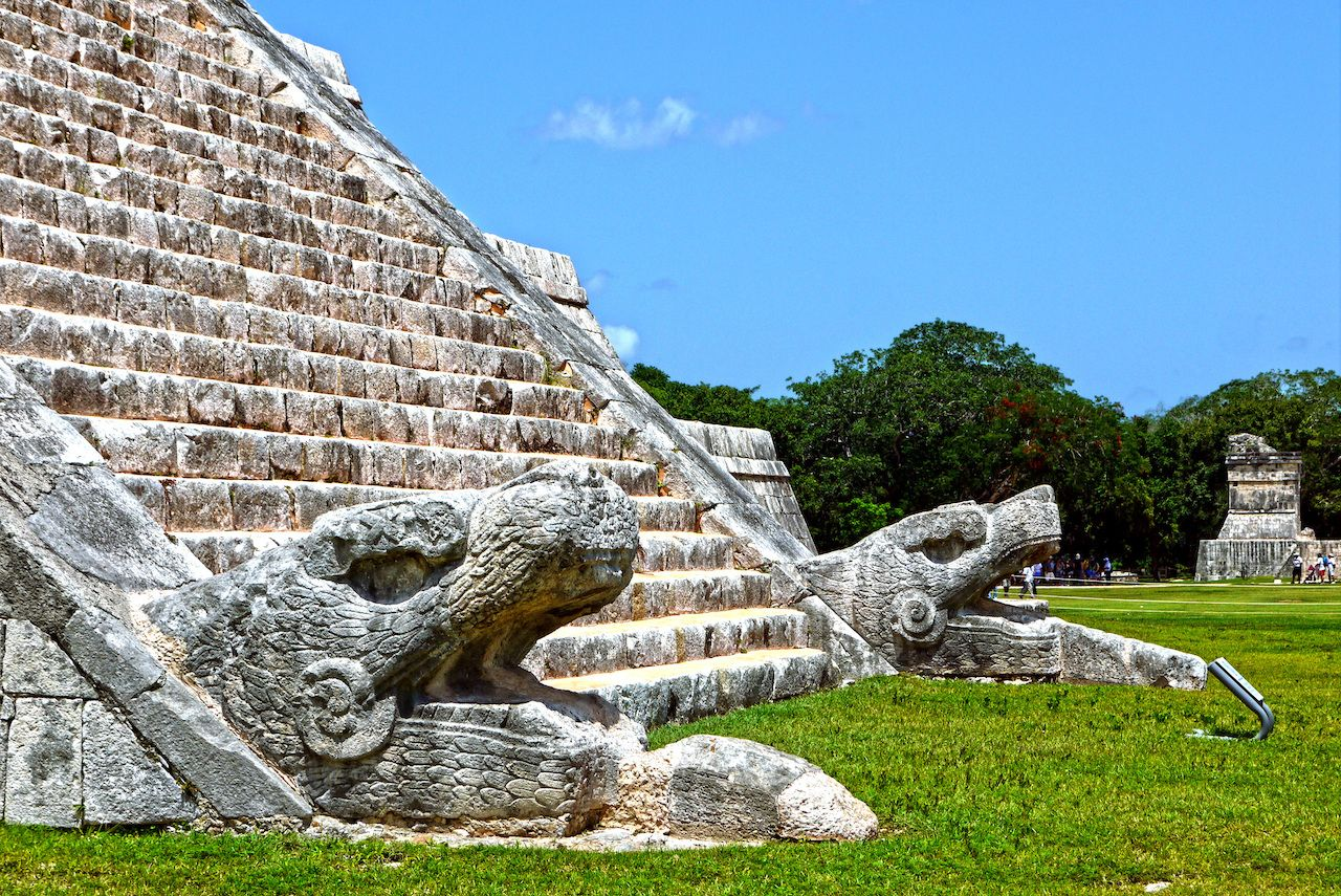 Chichen Itza steps