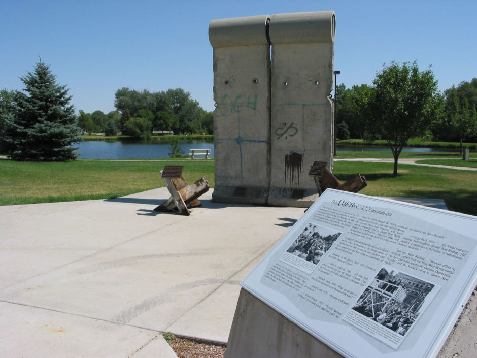 Berlin Wall, Memorial Park, Rapid City, SD