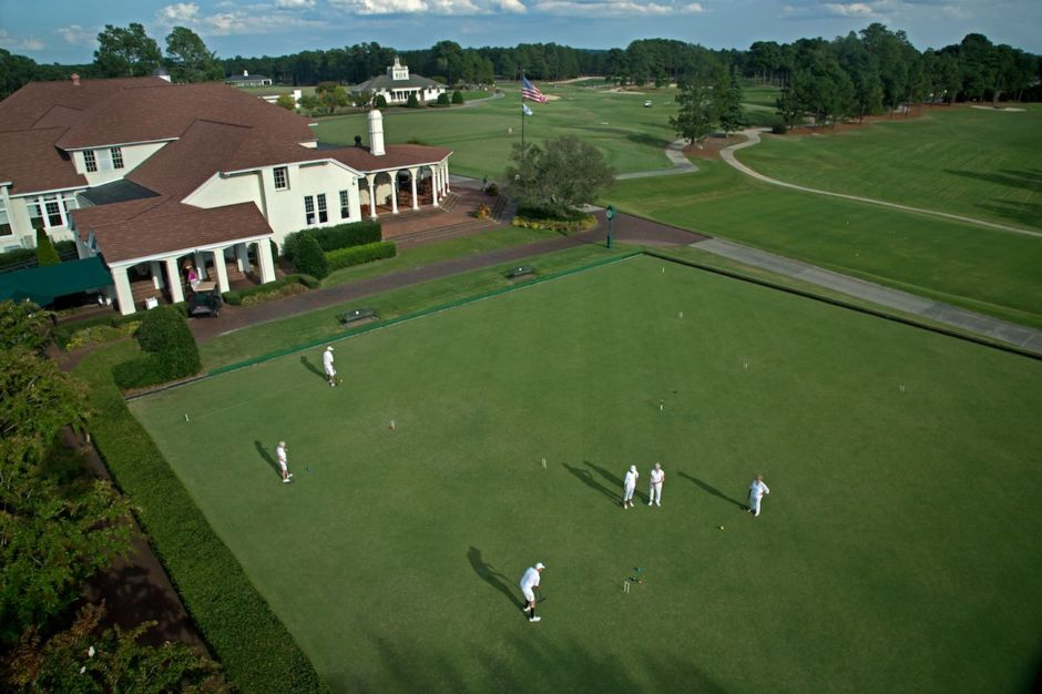 Pinehurst Resort croquet