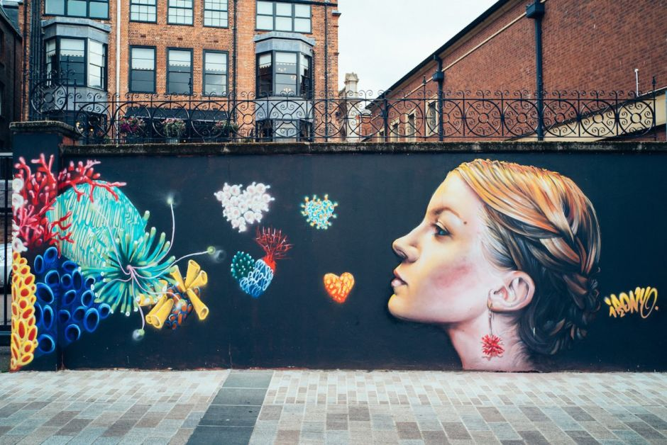 Seedhead Arts Street Walking Tours Belfast Ireland