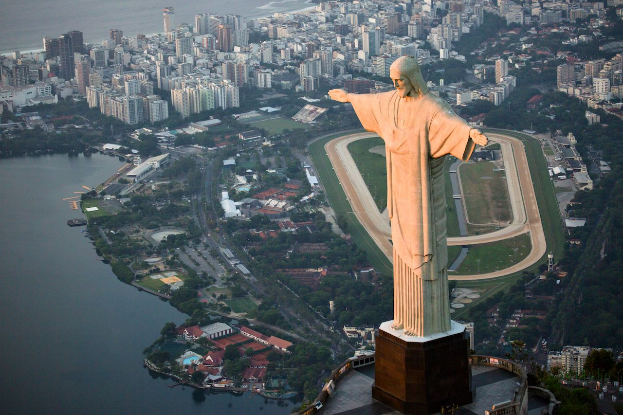 View of Christ the Redeemer