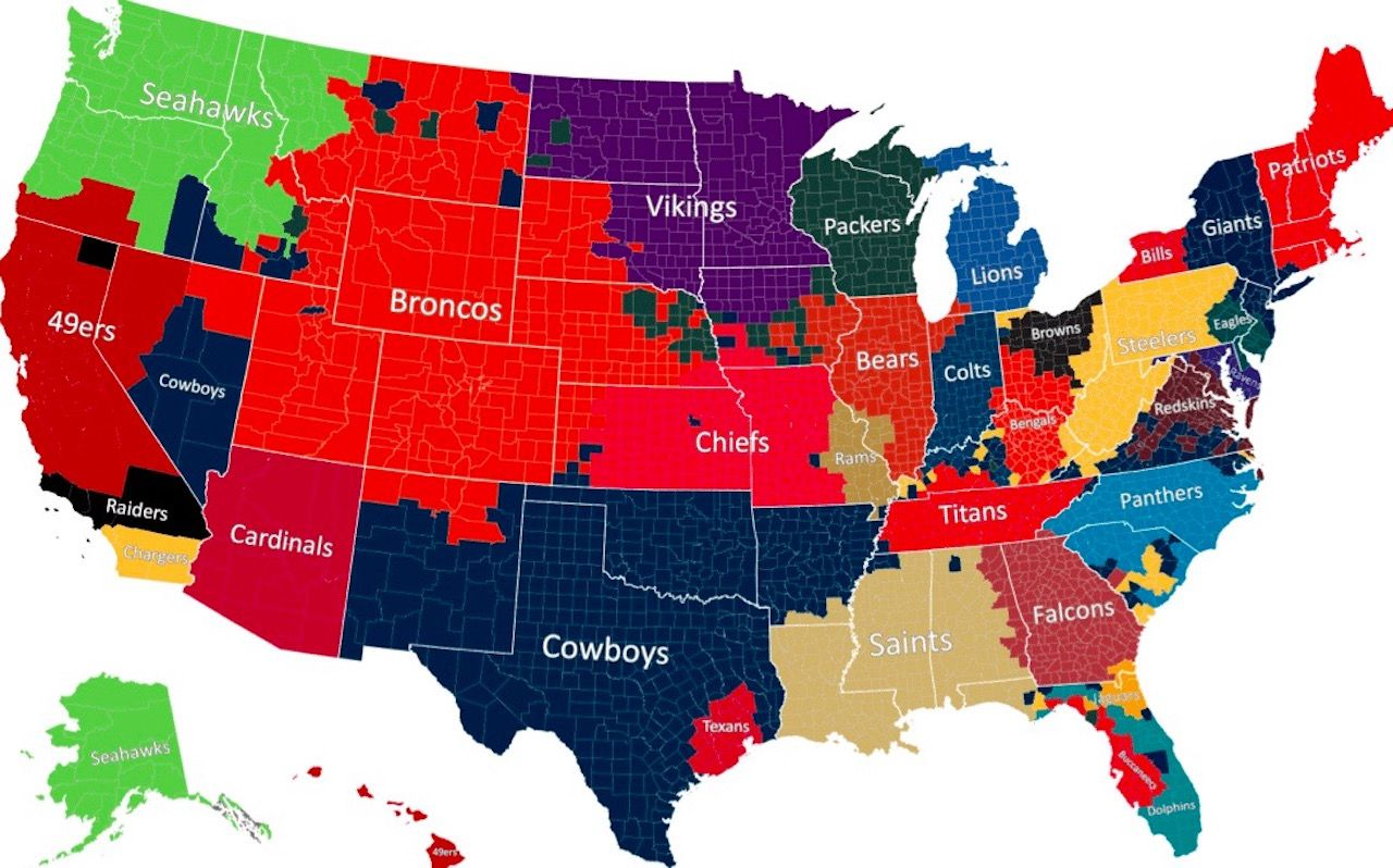 nfl fan map us counties