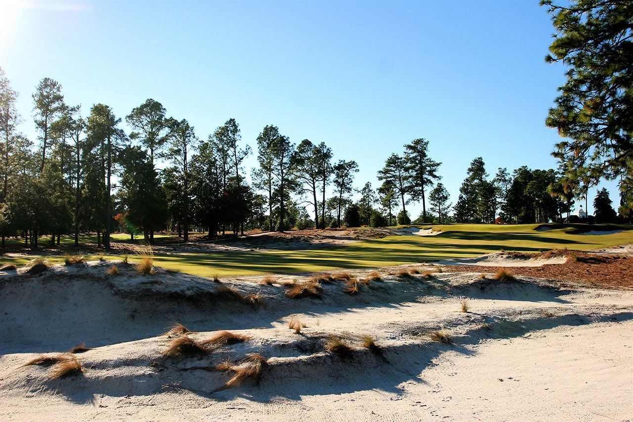 Pinehurst no2 golf course