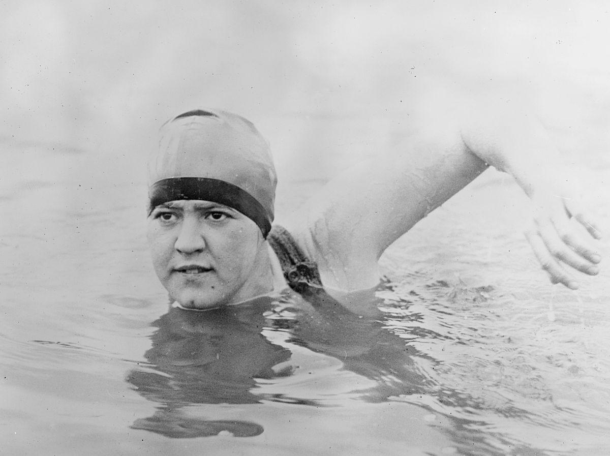 Gertrude Ederle record-breaker