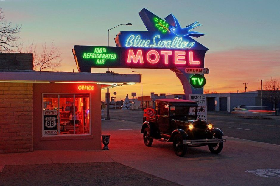 Blue Swallow Motel Tucumcari Route 66 New Mexico