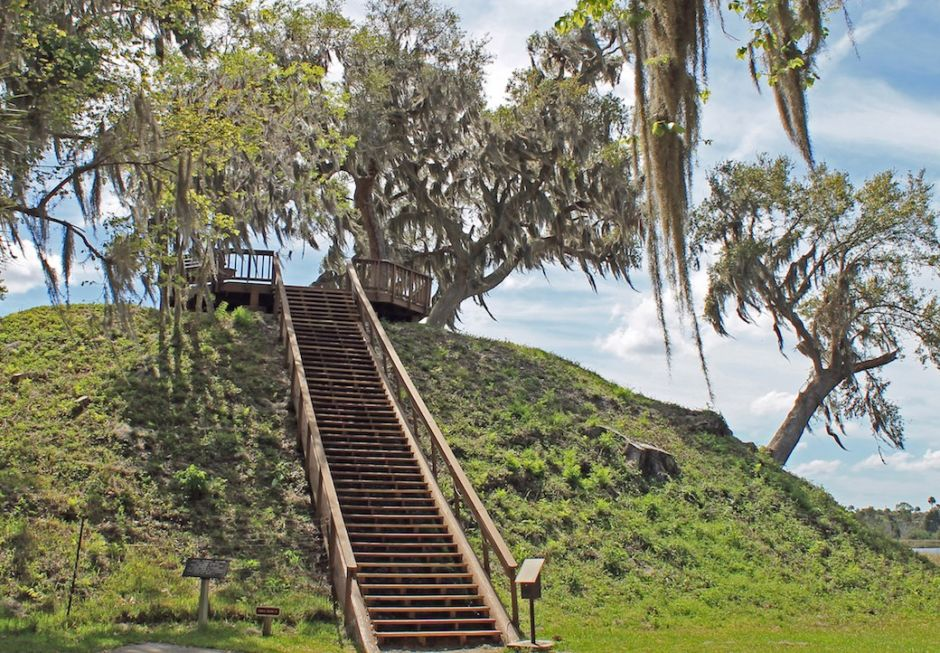 Crystal River Archaeologocal State Park Florida