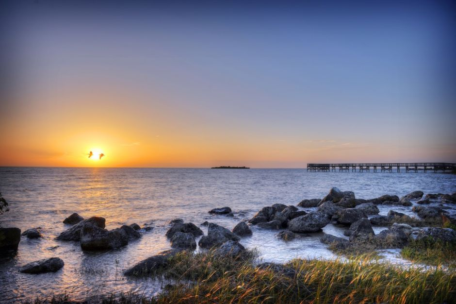 Fort Island Trail Beach Crystal River Florida