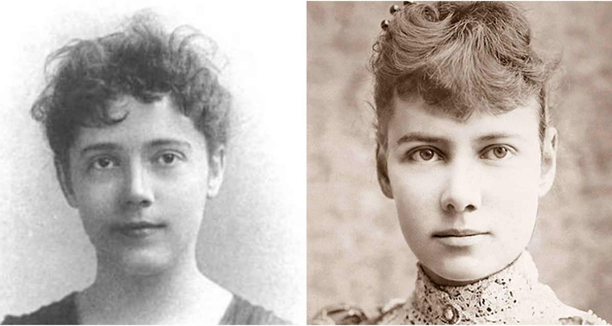 Image result for elizabeth bisland nellie bly photo