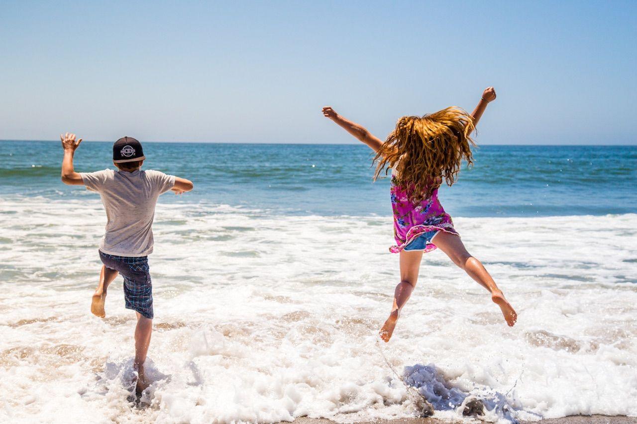 Kids Ventura Beach California