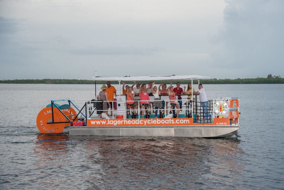 Lagerhead Cycleboat Tours Fort Myers Florida