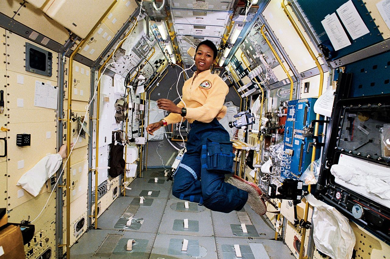 Mae Jamison in Space
