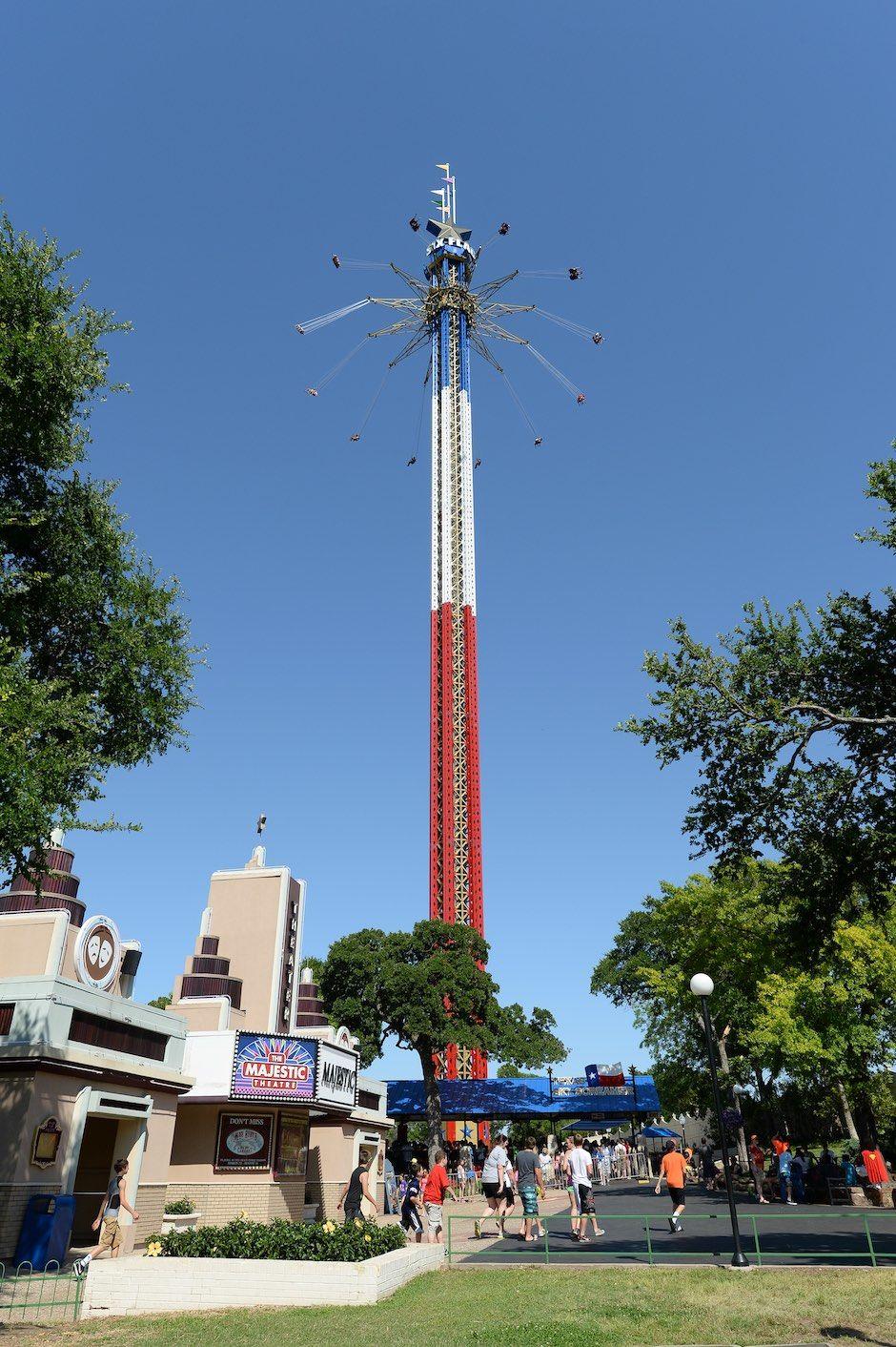 Six Flags Over Texas Skyscreamer Arlington