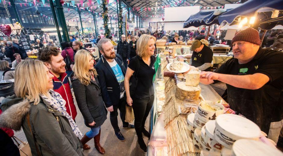 St Georges Market Belfast Ireland