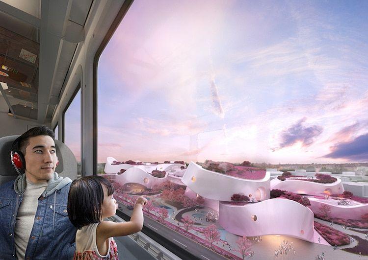 Pink millennial museum in Taiwan