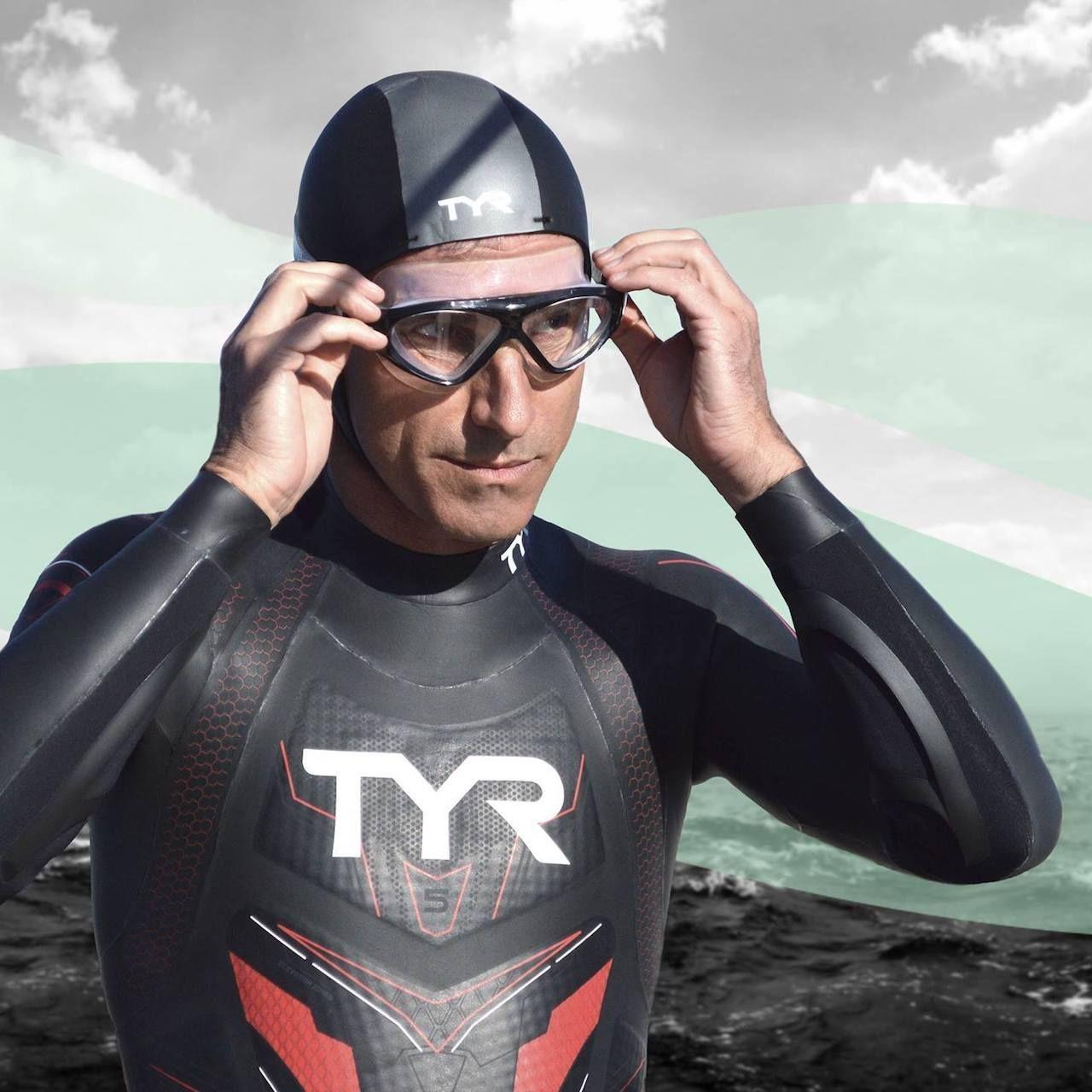 Benoit Lecomte swimmer