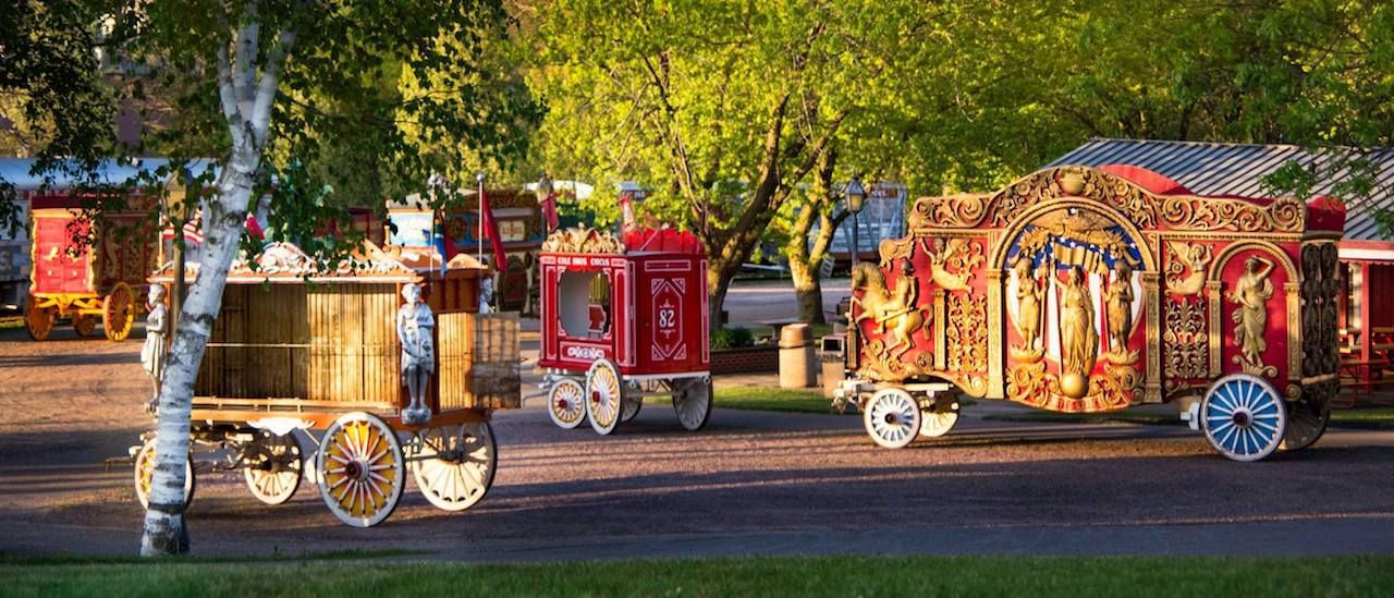 Circus carriages