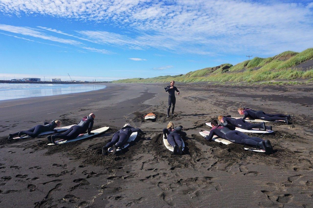 Iceland surf