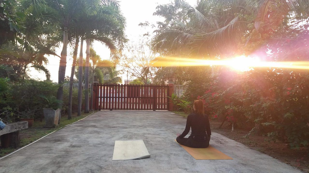Zen House, Yoga&Meditation Garden'