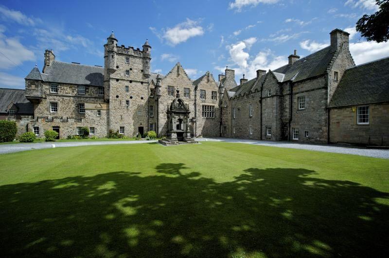 Hogwarts school in Scottish castle