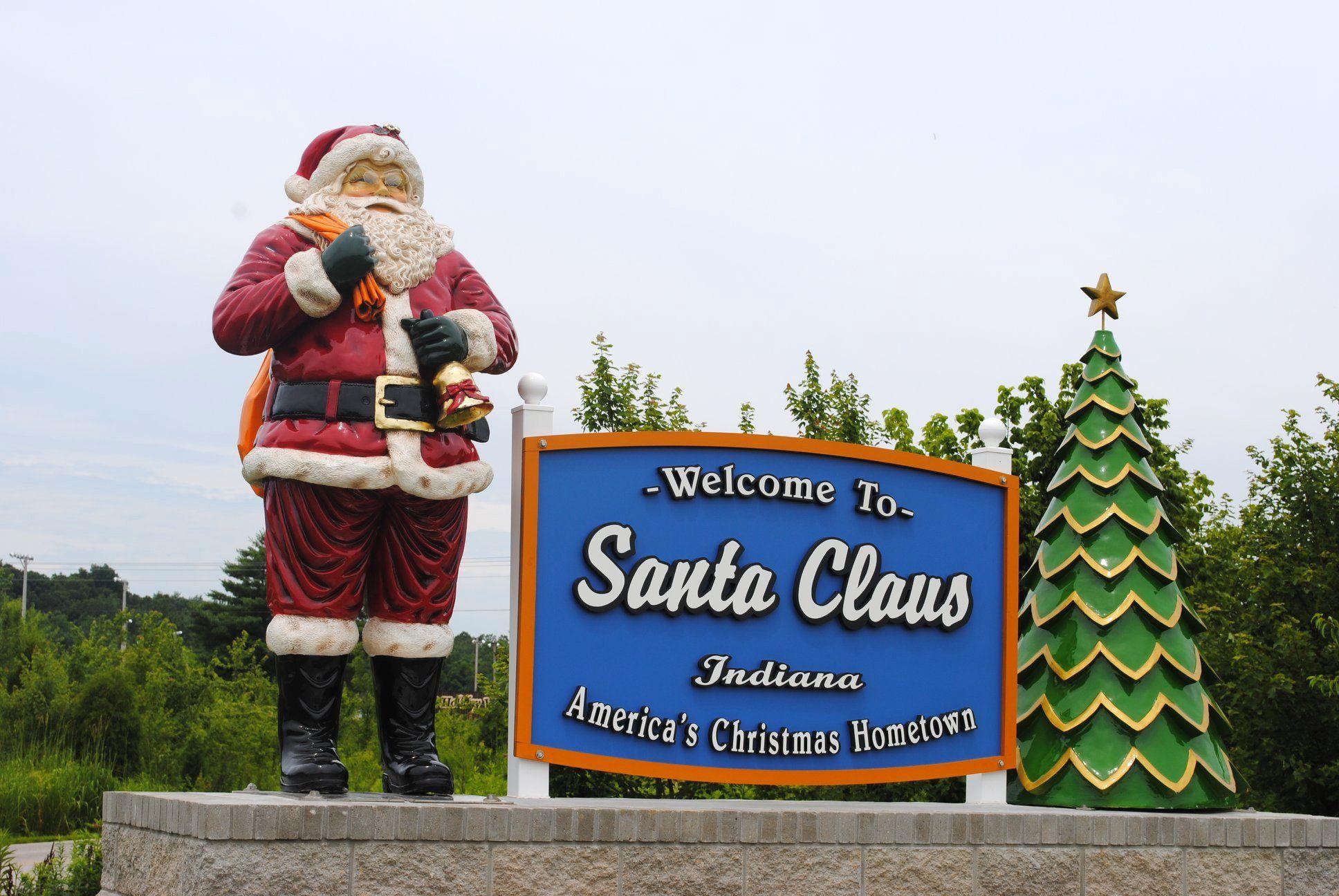 Indiana's Santa Claus city