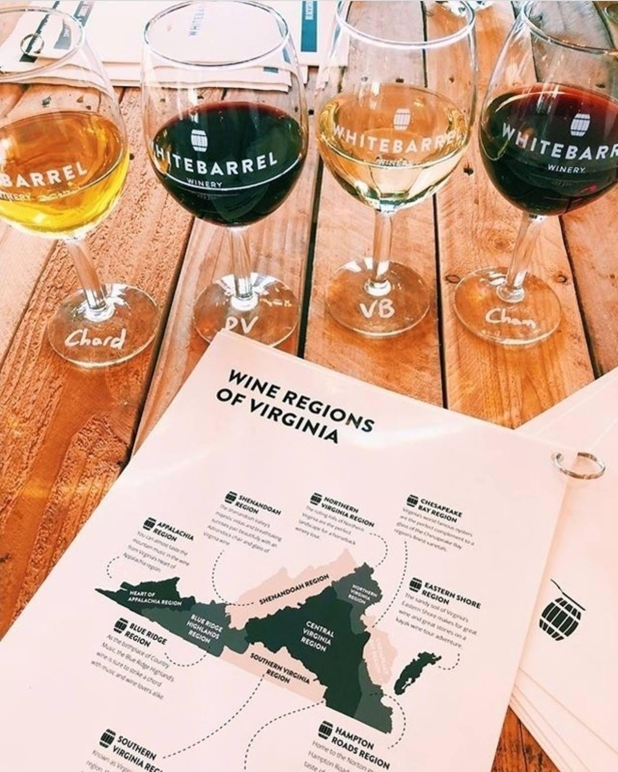 Virginia wine tasting