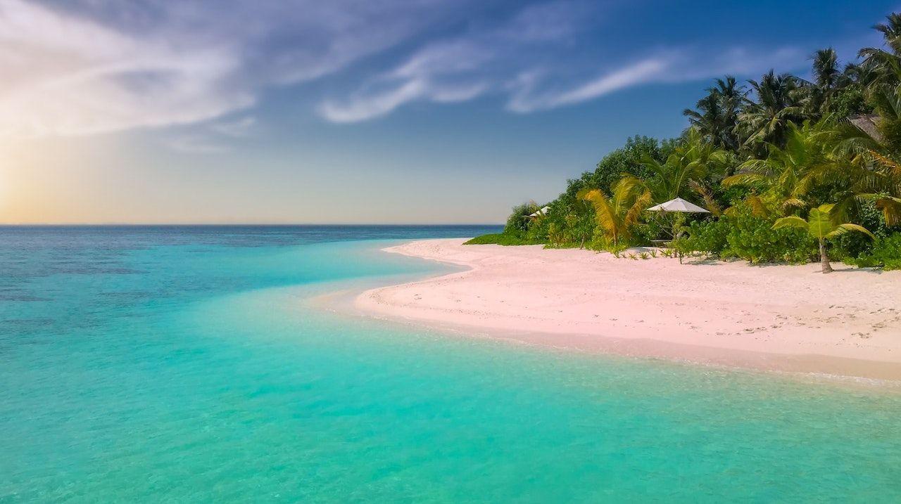 Bonaire's pink beach