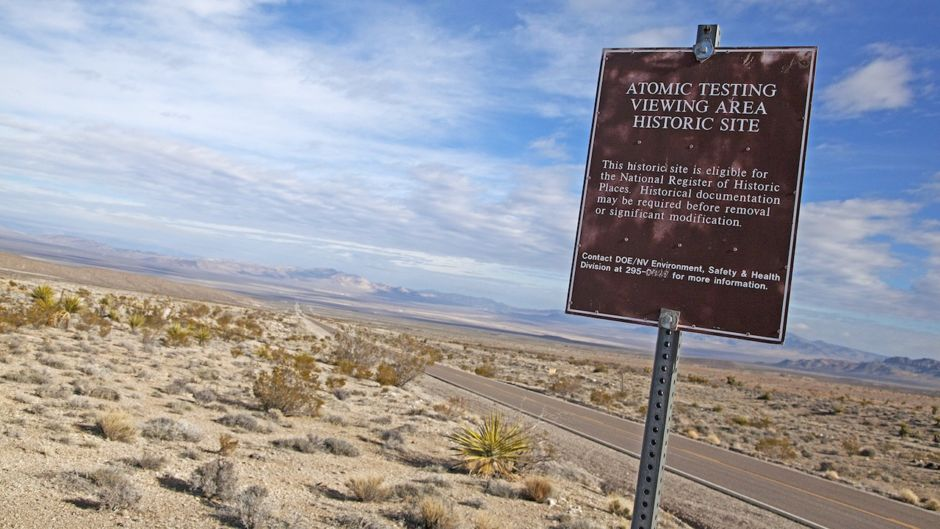 Atomic Testing site Nevada