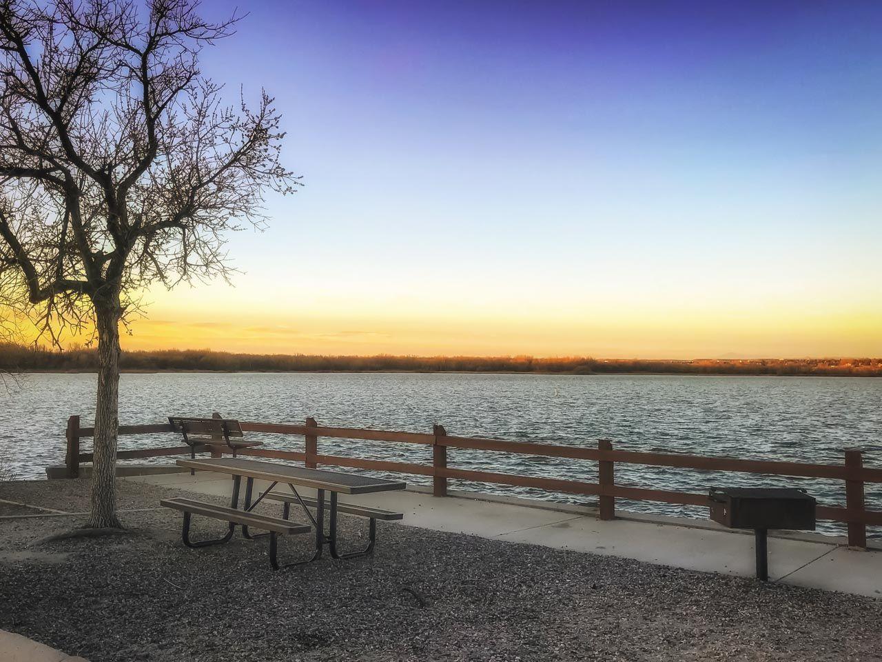 Aurora Colorado Cherry Creek Park lake