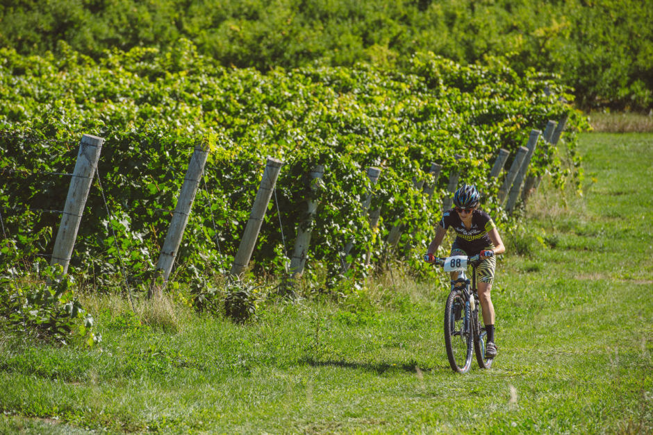 Biking in the Vines, Traverse City
