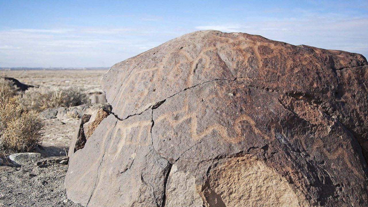 Grimes Point Prehistoric Art Nevada