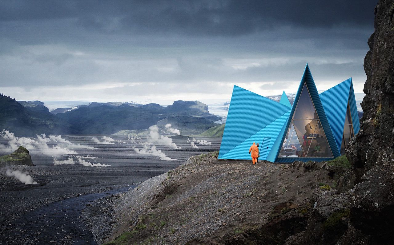 Mountain cabin Iceland
