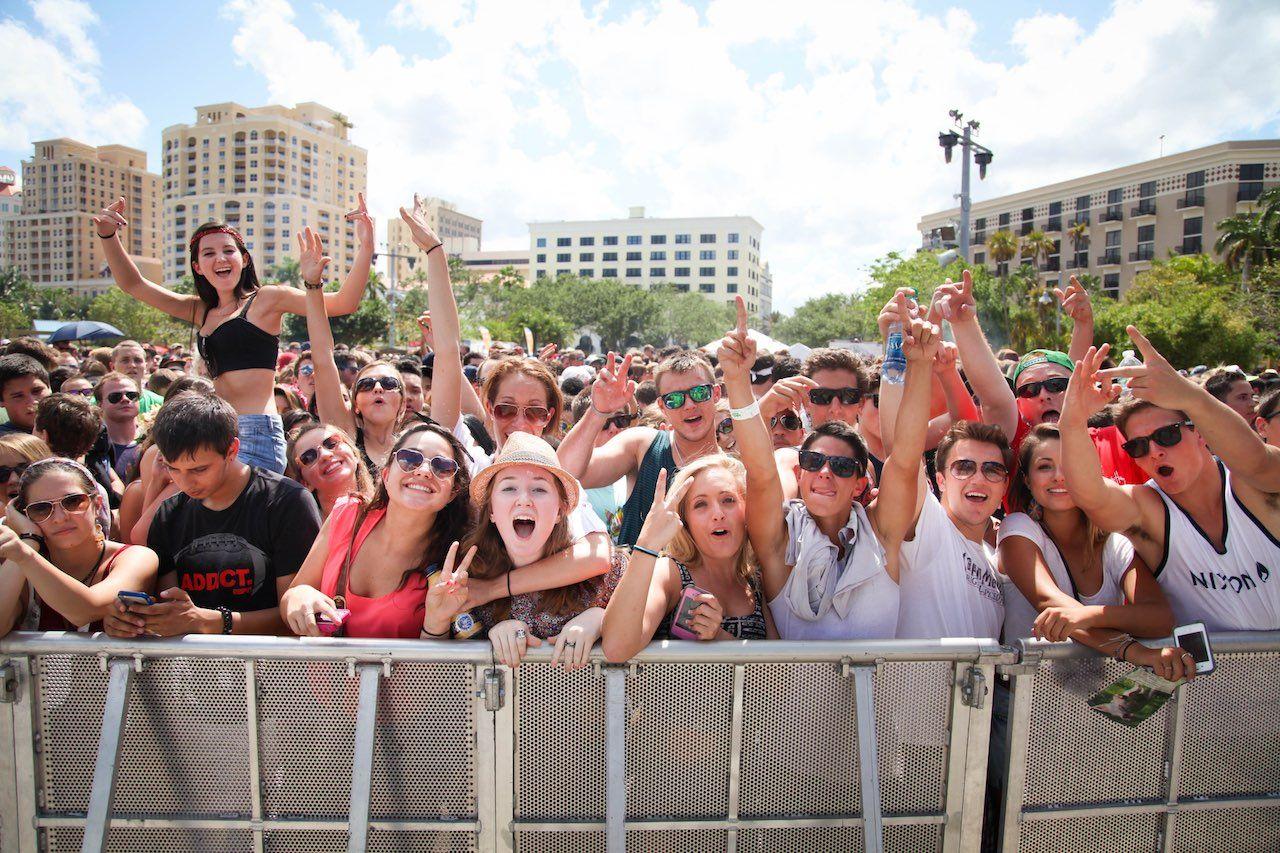 SUNFEST music festival Palm Beaches Florida