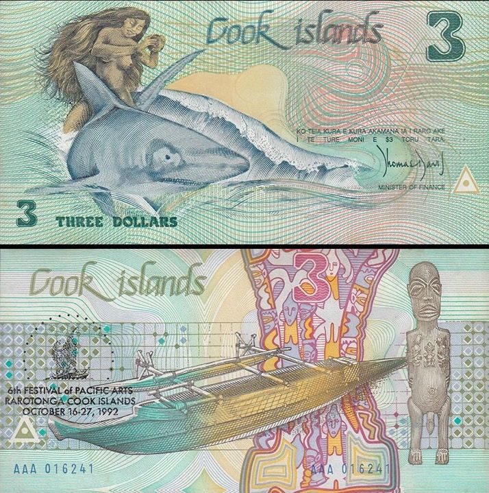 Cook Islands banknote 3