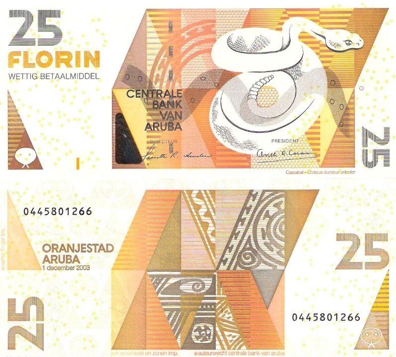 Aruba 25 florin