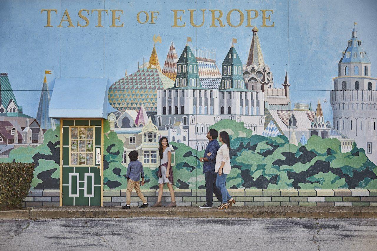 Taste of Europe Arlington Convention and Visitors Bureau