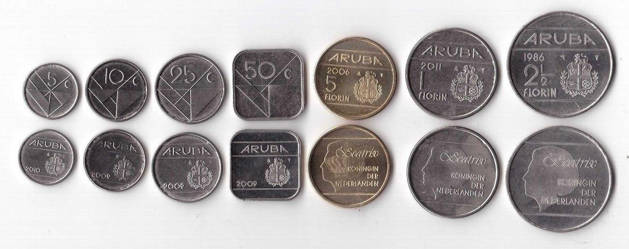 Aruba coins square