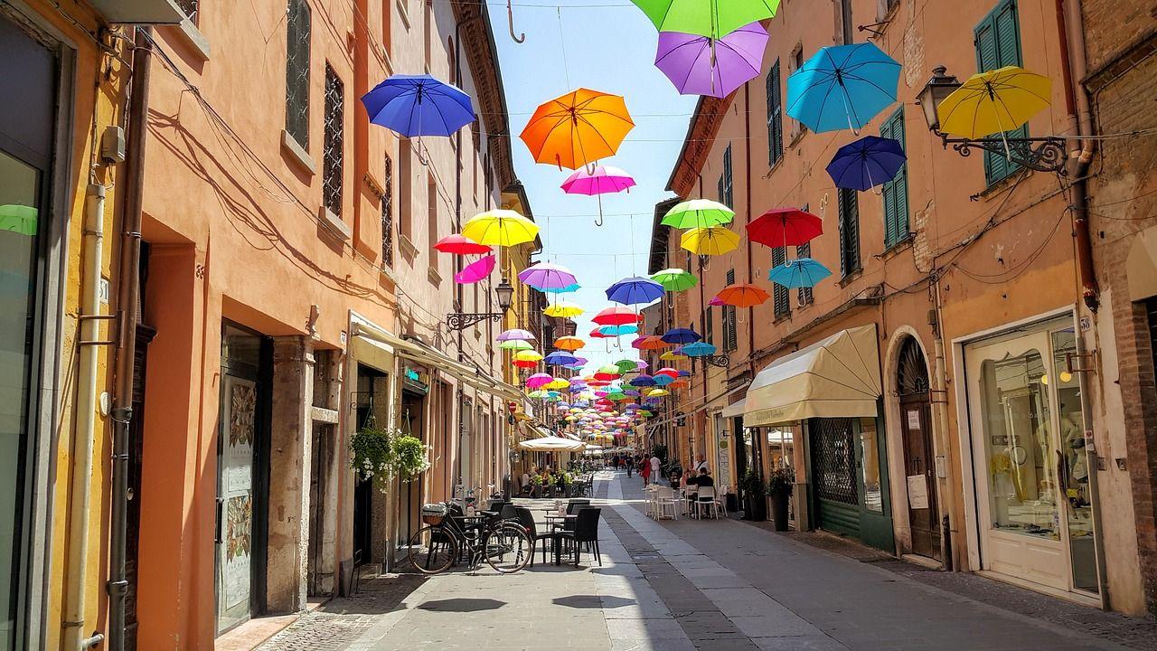 Ferrara umbrellas