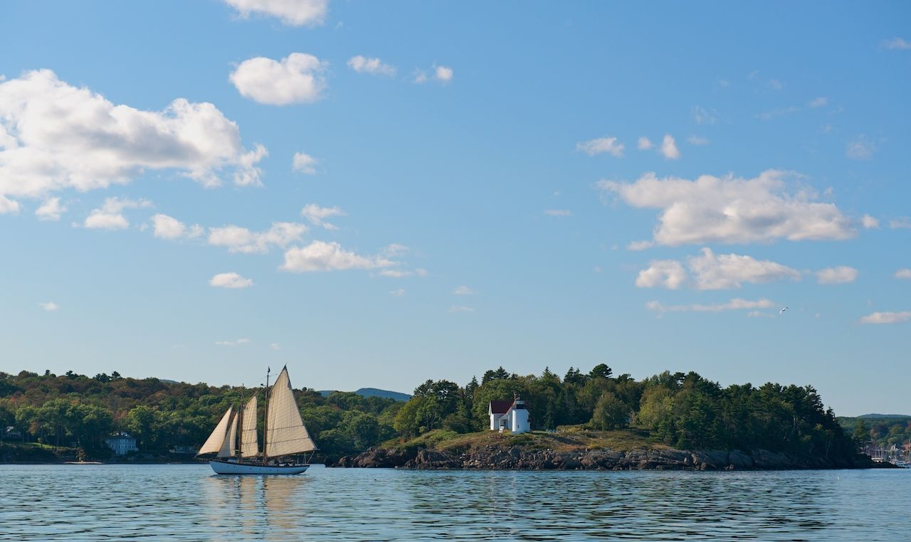 Boating in Maine