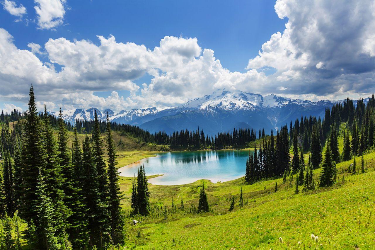 Glacier Peak in Washington, USA