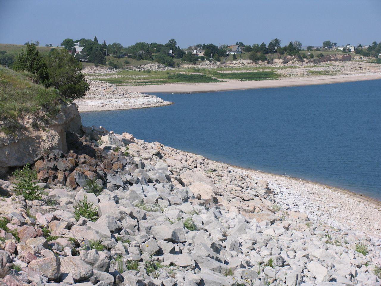 Lake Maconahey in Ogallala, Nebraska