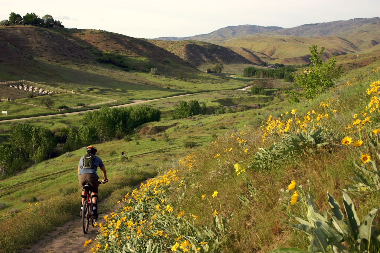 Boise, Idaho mountain biking