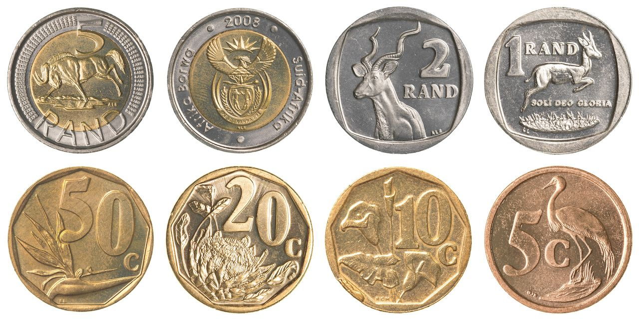 South Africa coins