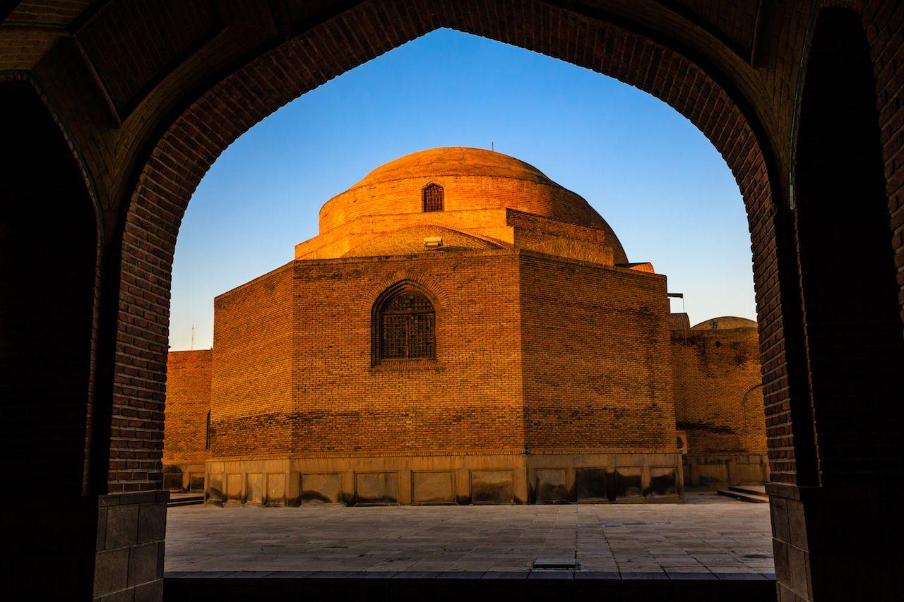 Tabriz temple