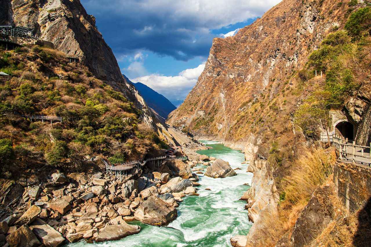 Tiger Leaping Gorge in China