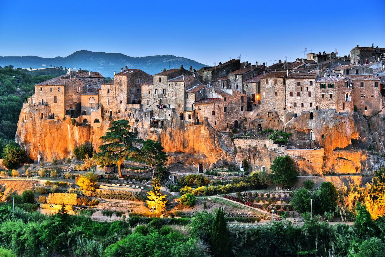Pitigliano in Tuscany, Italy