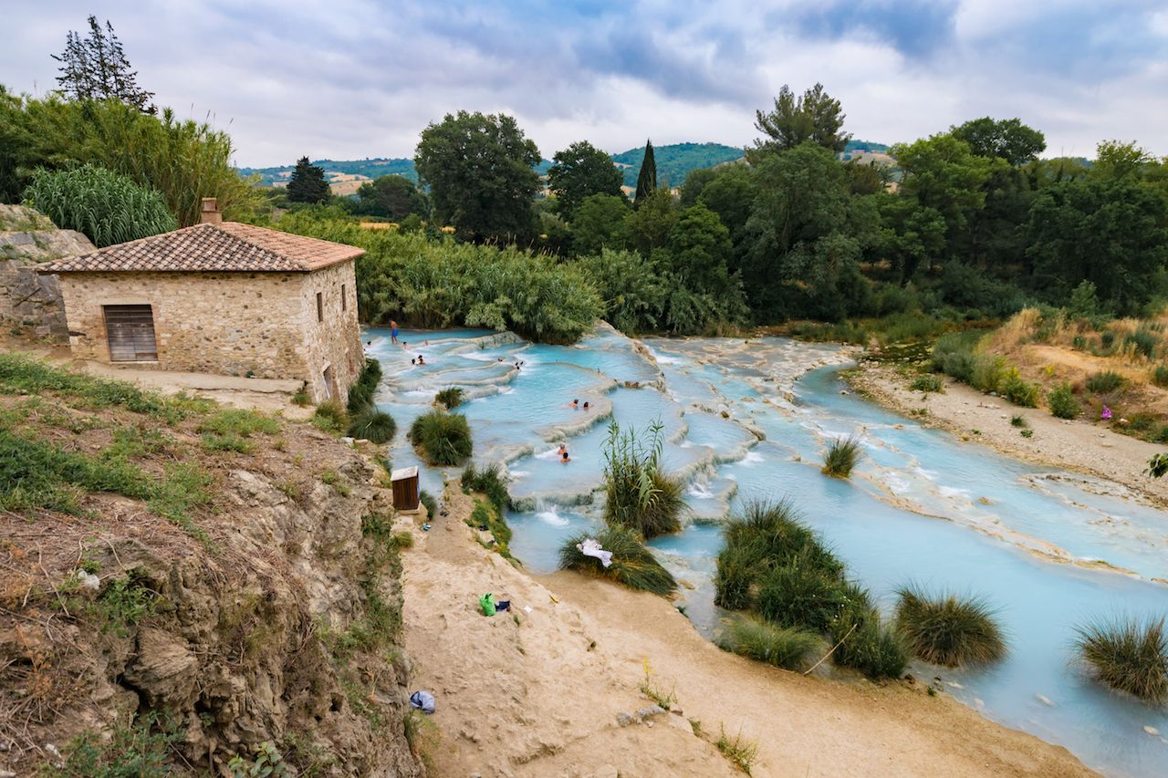 How to road trip around italy for under 500 - Bagni san filippo agriturismo ...