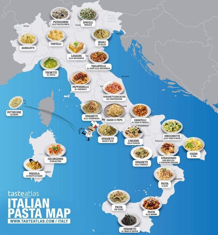 Pasta map