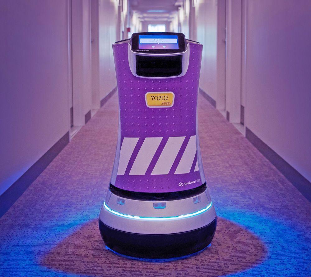 Room service robot